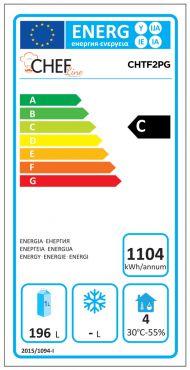Classe Energetica Tavolo Frigo CHTF2PG