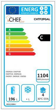 Classe Energetica Tavolo Frigo CHTF2PGAL