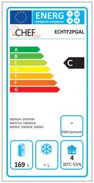 Classe Energetica Tavolo Frigo ECHTF2PGAL