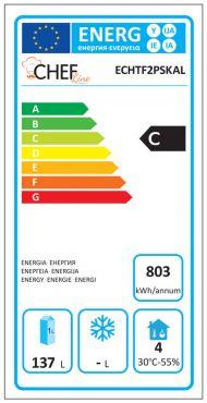 Classe Energetica Tavolo Frigo ECHTF2PSKAL