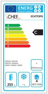 Classe Energetica Tavolo Frigo ECHTF3PG