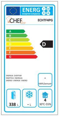 Classe Energetica Tavolo Frigo ECHTF4PG