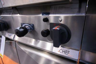 cuocipasta gas su mobile 30 litri profondita 70 chefline 3