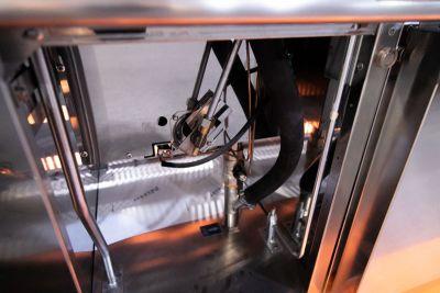 cuocipasta gas su mobile 30 litri profondita 70 chefline 4