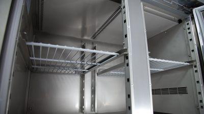 Dettaglio Tavolo Refrigerato 2 Porte Positivo Chefline 2