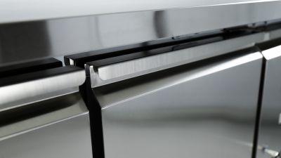 Dettaglio Tavolo Refrigerato 2 Porte Positivo Chefline 4