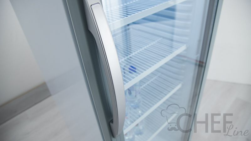 dettaglio vetrina bibite refrigerata 325 litri canopy chefline 4