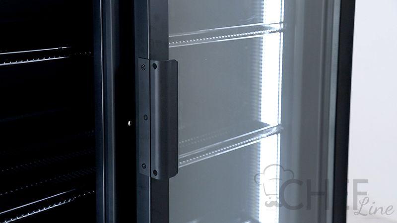 Dettaglio vetrina refrigerata 1200 litri chvp1200 chefline 01