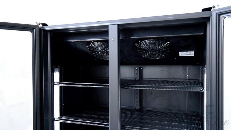 Dettaglio vetrina refrigerata 1200 litri chvp1200 chefline 02