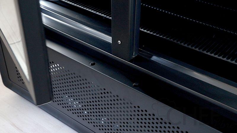 Dettaglio vetrina refrigerata 1200 litri chvp1200 chefline 04