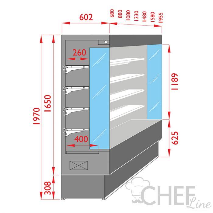 sezione-murale-refrigerato-vulcano-salumi-latticini-profondita-60-chefline