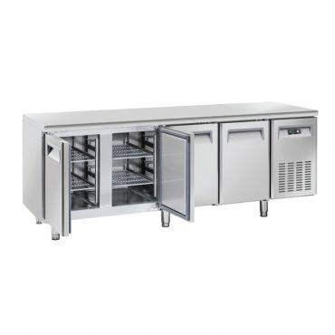tavolo-refrigerato-ECHTF4PG-aperto-chefline