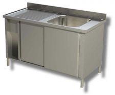 Lavelli Armadiati/Con Mobile In Acciaio Inox AISI 304 Linea TOP