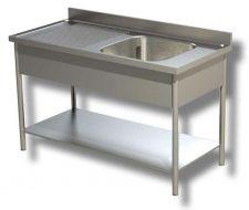 Lavelli Su Gambe In Acciaio Inox AISI 304 Linea TOP