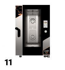 Forni Elettrici/Gas Manuali, Digitali, Touch 10/11 Teglie