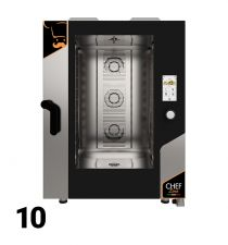 Forni Elettrici/Gas Manuale, Digitale, Touch 10 Teglie
