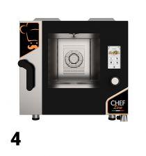 Forni Elettrici/Gas Manuali, Digitali, Touch 4 Teglie