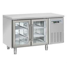 Tavoli Refrigerati Porte A Vetro (0°/+10°) Profondità 60 Cm