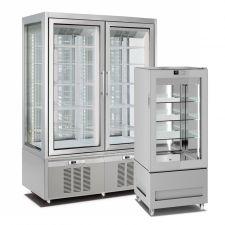 Frigo Vetrine Verticali Ventilate Pasticceria e Gelateria +5°C/-20°C