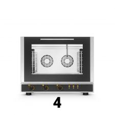 Forni Elettrici Manuali e Digitali 4 Teglie