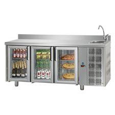 Tavoli Refrigerati Porte A Vetro Con Motore