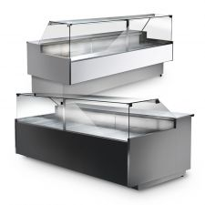 Optional Vetrine Refrigerate a Vetri Dritti