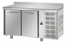 Tavolo Refrigerato 2 Porte Con Piano e Alzatina 10 Cm Pr. 70 cm