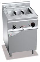 Cuocipasta Elettrico Su Mobile Capacità 25 Lt Profondità 60 cm