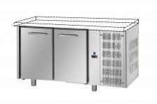 Tavolo Refrigerato 2 Porte Senza Piano Pr. 70 cm