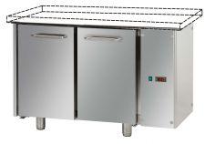 Tavolo Refrigerato 2 Porte Senza Piano A Motore Remoto Pr. 70 cm