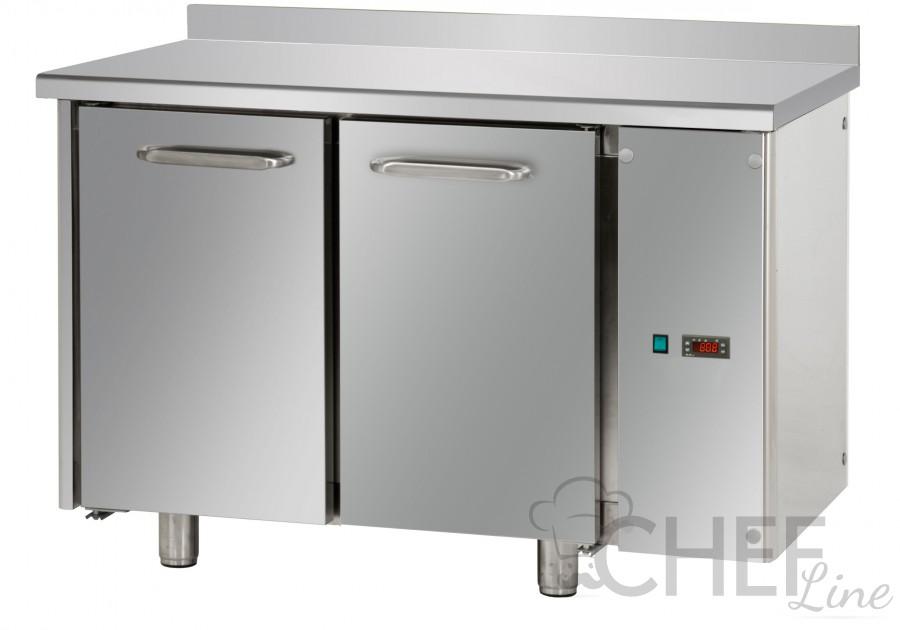 Tavolo Refrigerato 2 Porte Con Piano E Alzatina A Motore ...