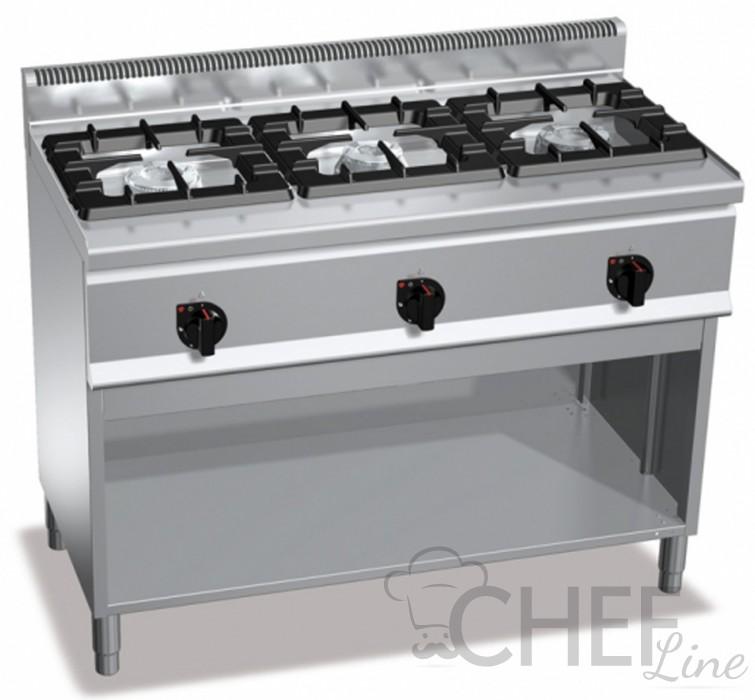 Cucine A Gas Professionali G6F3MH12 - Chefline