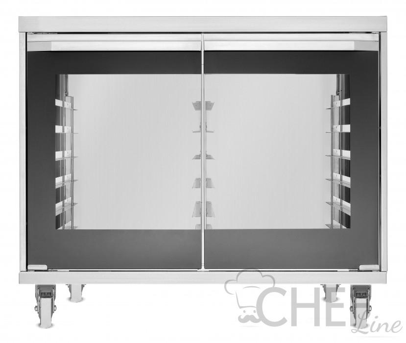 Lievitatore Con Umidificazione 12 Teglie 60 x 40 Touch Control con ruote