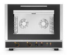 Forno Per Ristorante Elettrico Manuale 4 Teglie Ventilato Convezione Con Grill E Umidificatore