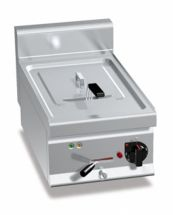 Friggitrice Elettrica Professionale Da Banco Capacità 10 Lt Profondità 70 cm