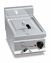 Friggitrice Elettrica Professionale Da Banco Capacità 10 Lt High Power Profondità 70 cm