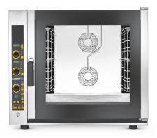Forno Per Ristorante e Gastronomia Elettrico Digitale 7 Teglie a Vapore Diretto Potenziato