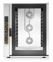 Forno Per Ristorante e Gastronomia 11 Teglie Elettrico Digitale a Convezione Con Vapore Diretto
