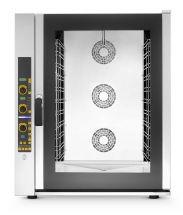 Forno Per Ristorante e Gastronomia 11 Teglie Elettrico Digitale a Convenzione Vapore Diretto Con Boiler