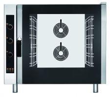Forno Per Ristorante Elettrico Manuale 6 Teglie Ventilato Convezione Vapore Diretto
