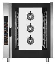 Forno per Ristorante e Gastronomia Elettrico Digitale 10 Teglie a Convenzione e Vapore Diretto