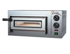 Forno Pizza Elettrico Compact Singolo 1 Pizza Diametro 34 Cm di Cheflien