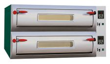 Forno Pizza Elettrico Digitale Professional Laterale Doppio (9 + 9) Pizze Diametro 34 cm
