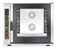 Forno Per Ristorante e Gastronomia Elettrico Digitale 7 Teglie Vapore Diretto Con Boiler