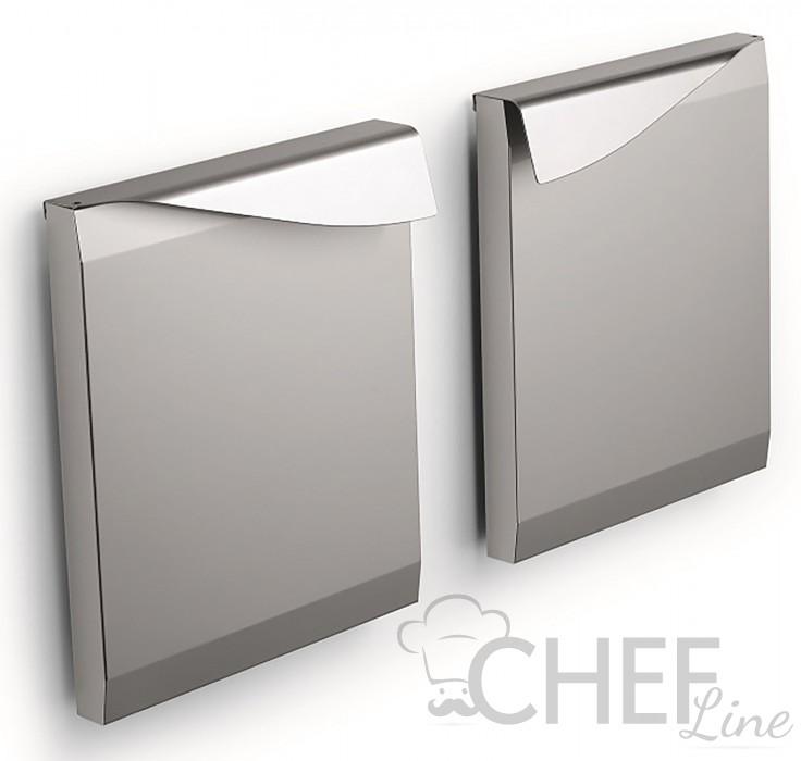 2 Porte Da 40 cm Per Mobili Linea Cottura Professionale