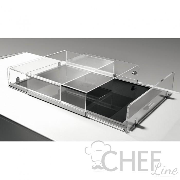 Copertura Plexiglass Scorrevole Per Vasca Refrigerata