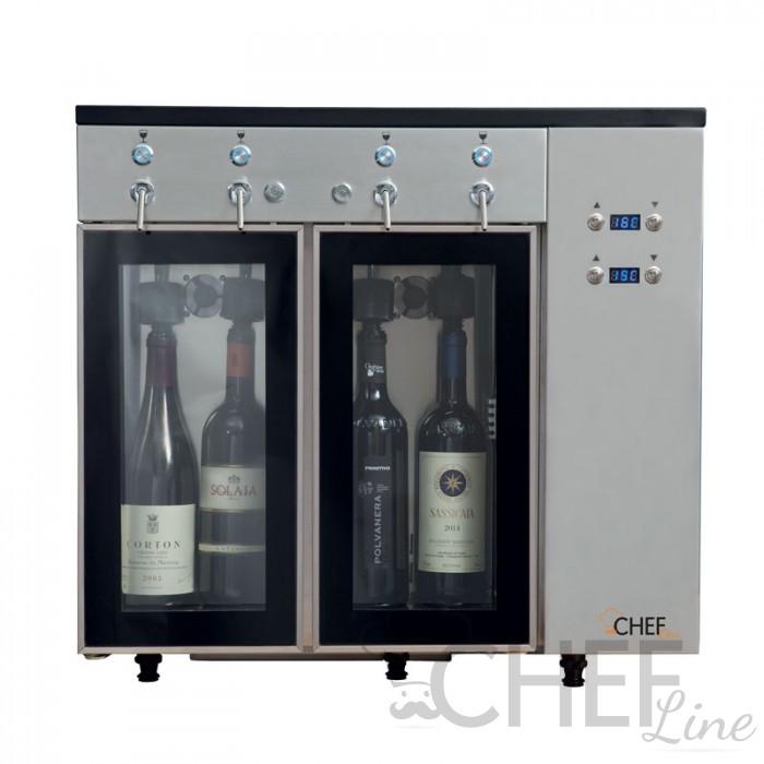 Immagine Azotatrice Per Vini Pregiati 2 + 2 Bottiglie