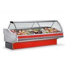 Banco Frigo Alimentari Salina Plus +3°C +5°C 300 Cm Full Optional Rosso