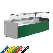 Banco Frigo Alimentari Semi Ventilato Vetri Dritti Chefline