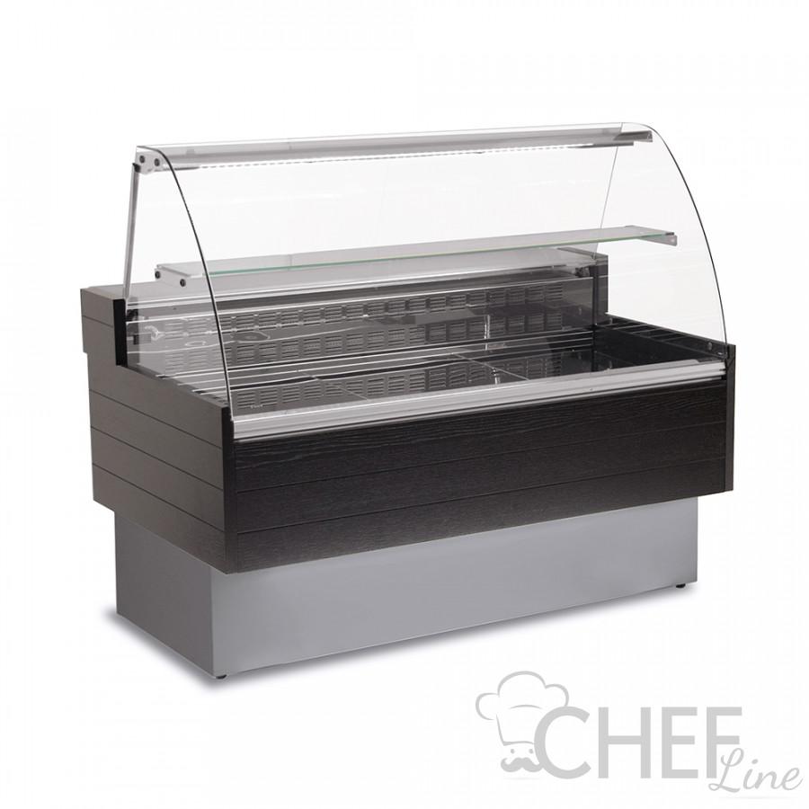 Banco Refrigerato Kibuk Effetto Legno +3°C +5°C